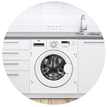 Haden Built In Integrated Washing Machine Laundry