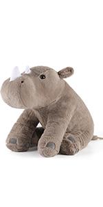 plush rhino stuffed
