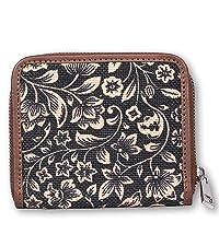 ikat wave mini wallet for women