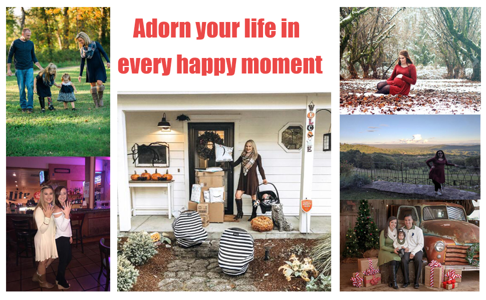 Adorn your life in every happy moment