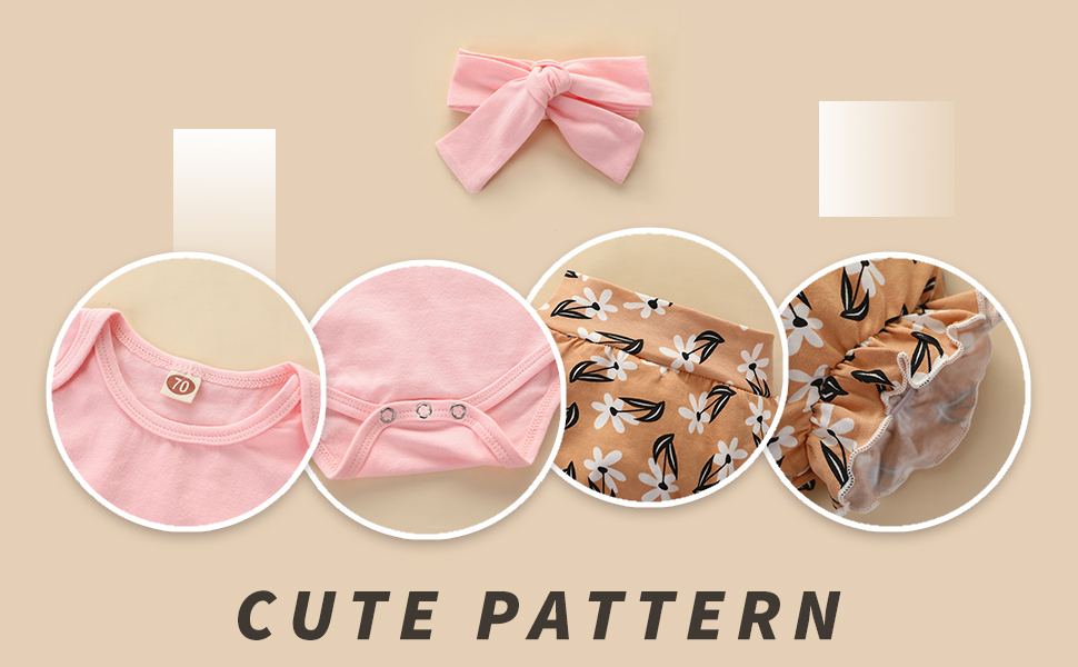 baby girl summer short set outfit