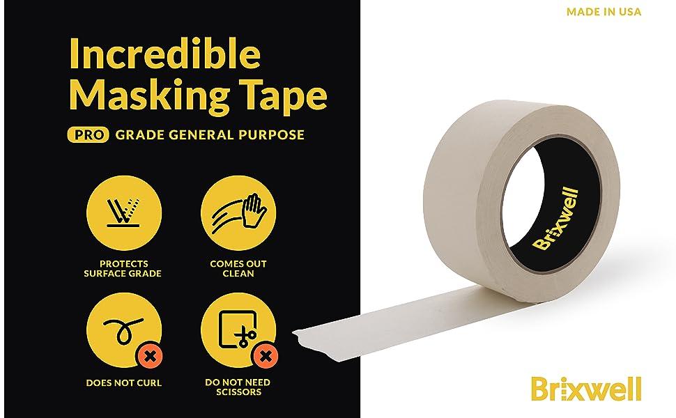 Pro Grade General Purpose Masking Tan Tape