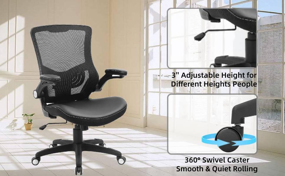 360° swivel desk chair