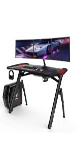 RGB gaming desk