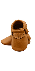 Baby Leather Shoes Soft First Walker Shoes Crib Shoes Moccasins for Toddlers