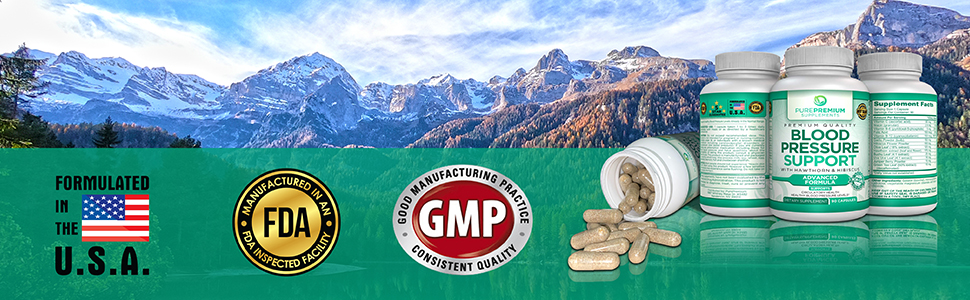 formulated in the usa fda gmp pills capsules tablets gummy