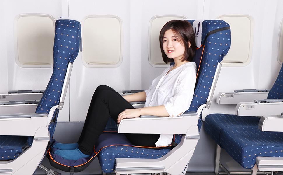 airplane hammock