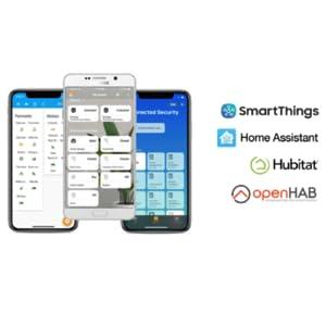 Works with popular smart-home platforms