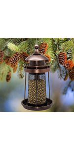 Twinkle Star Wild Bird Feeder, Lighthouse Shaped