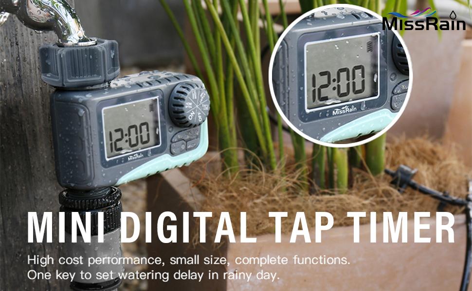 Mini Digital Tap Timer