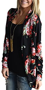 women kimono for women cardigans for women floral cardigan boho casual wrap tops outwear cover up