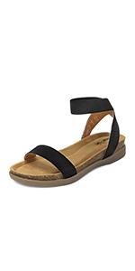 Kimmie flat sandals