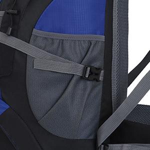 camping backpack side pocket