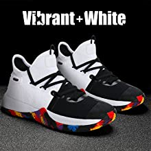 Kid's Basketball Shoes white