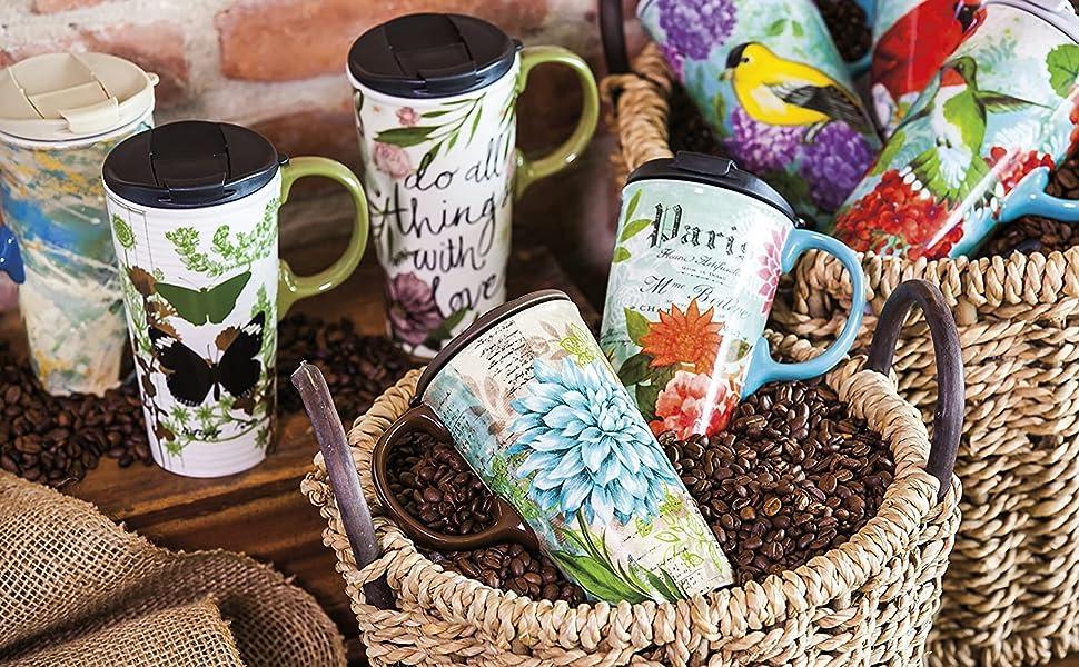 Mugs in Basket
