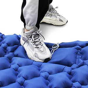 foot pump sleeping pad