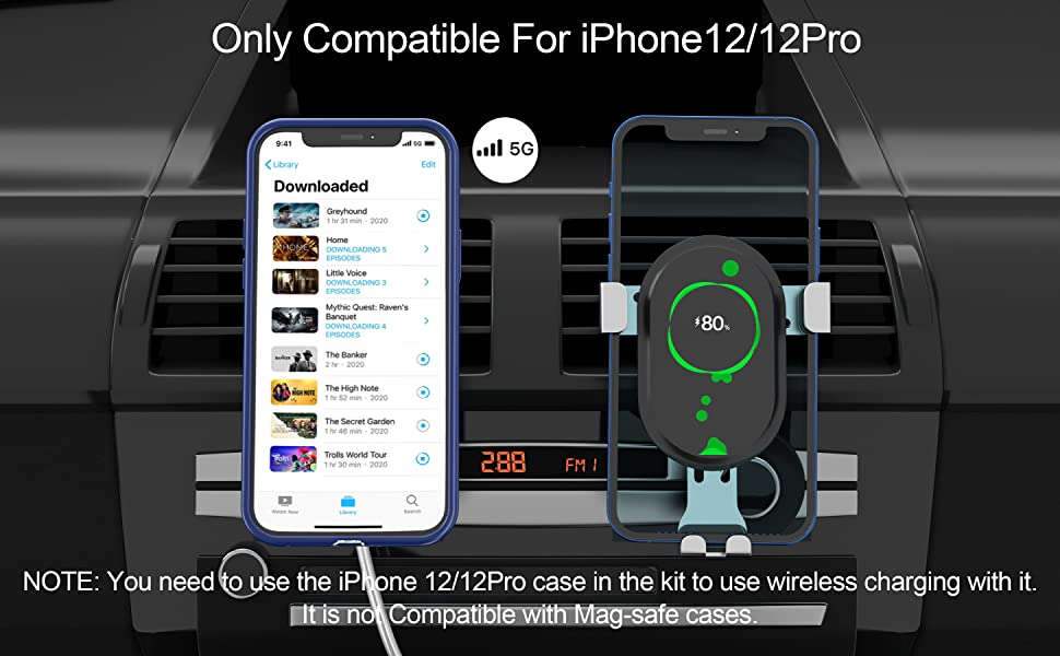 Full Signal compatible with iPhone 12/12 Pro
