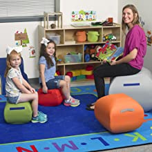 Kids bean bag chair; bean bag chair; Kids chair; Toddler chair; Daycare furniture; playroom décor