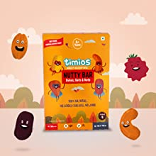 Healthy Nutrition Bar for 4 year old Kid, Energy and Snacking Bar, Almonds, Cashews, Oats, Dates