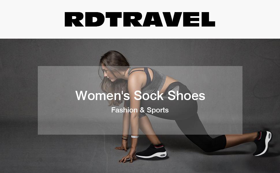 women sock shoes