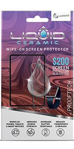 liquid glass screen protector ceramic  insurance iPhone 12 pro Mac note 10 plus S21 Ultra watch