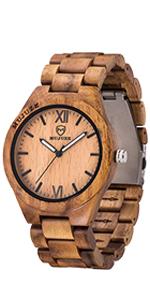 Orologio in legno 1001.