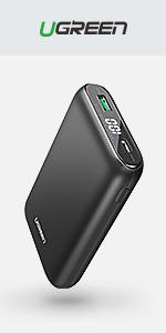 UGREEN 65W Cargador Rápido USB C PD, USB PD Cargador USB-C ...
