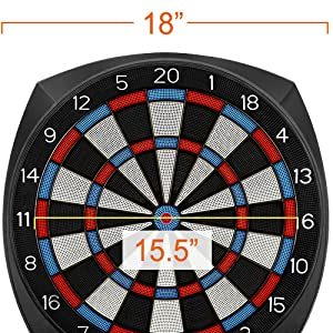 regulation dart board