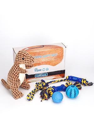 Nobleza – Pack de 5 Juguetes para Perro. Set Fabricado en Cuerda ...