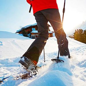 Women's Outdoor Waterproof Windproof Fleece Cargo Snow Hiking Pants