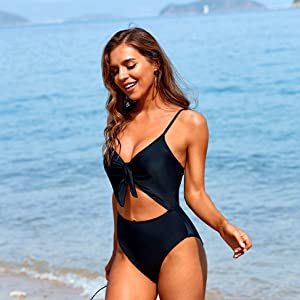 Cutout one piece swimsuits