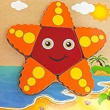 Star Fish Triangle Puzzle