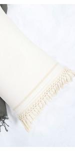 ivory pillow shams
