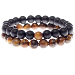 Bracelet homme, perle naturelle, protection zen, bouddhiste et tibétain, unisexe, femme