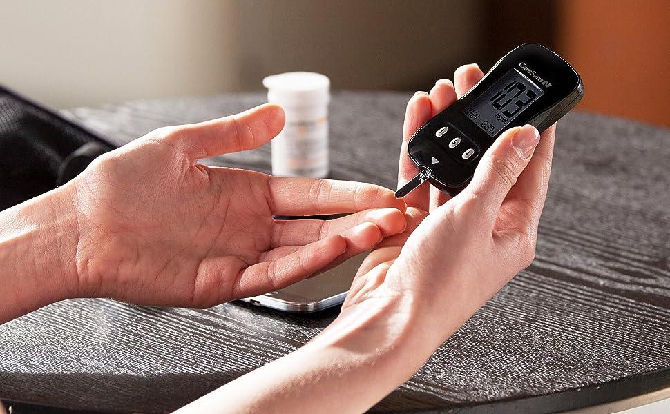 CareSEns, caresens n, glucometer, glucose meter, diabetes meter, diabetes test