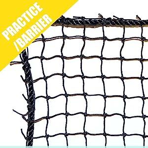 """#18 7/8"""" Practice/ Barrier Net"""