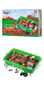 Farm Sand Play Set