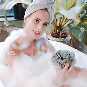 luxury bath sponge