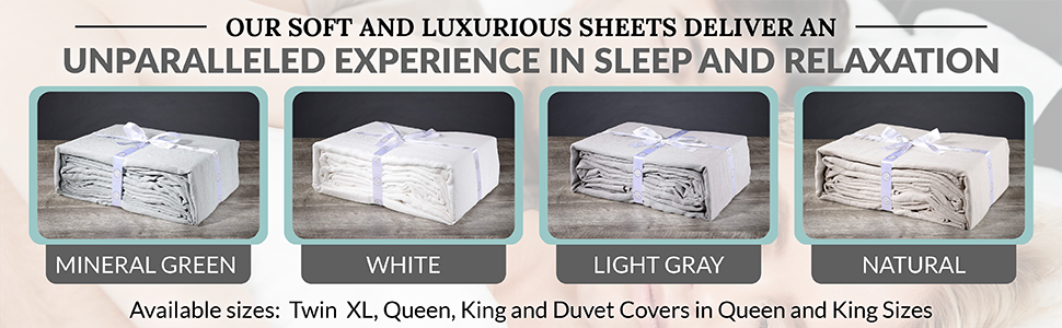 Our Soft And Luxurious Sheets Deliver