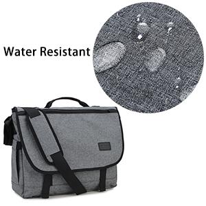 Water Resistant Messenger Bag