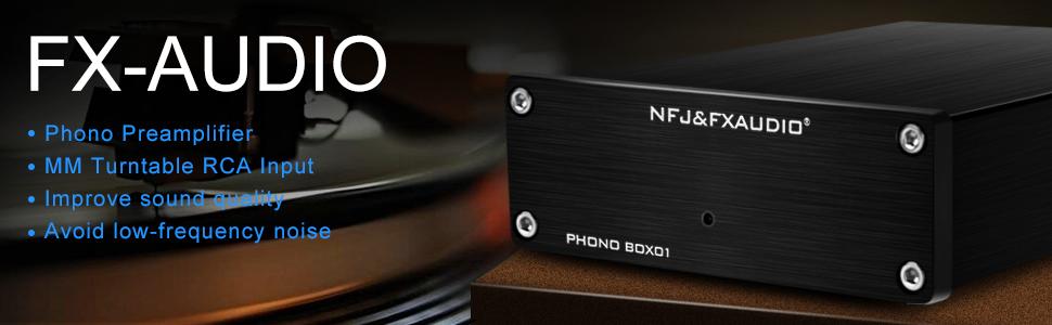 FX-AUDIO Phono Preamp