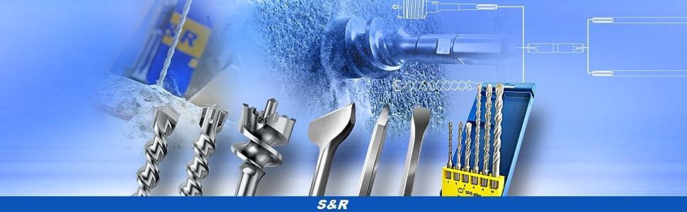 5x Bosch HSS-R Bohrer 15//32
