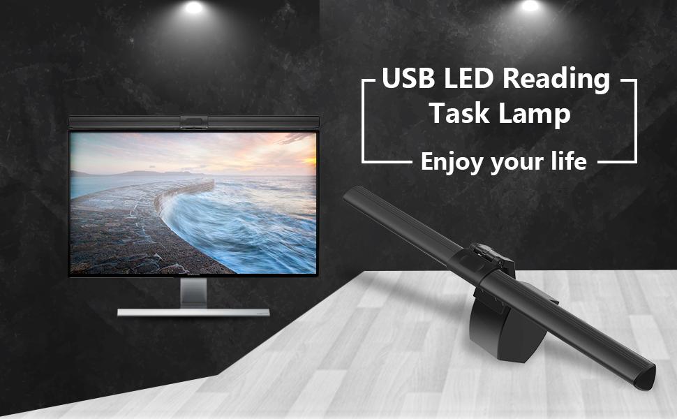 USB e-Reading LED Lamp
