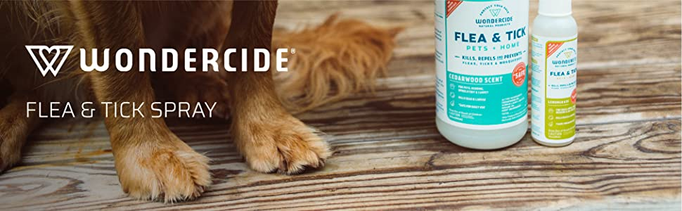 wondercide flea ticks pets dogs cats puppies kittens horses home safe non toxic natural