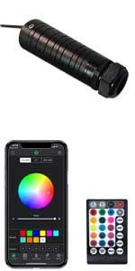 2020 upgraded bluetooth app fiber optic light kit