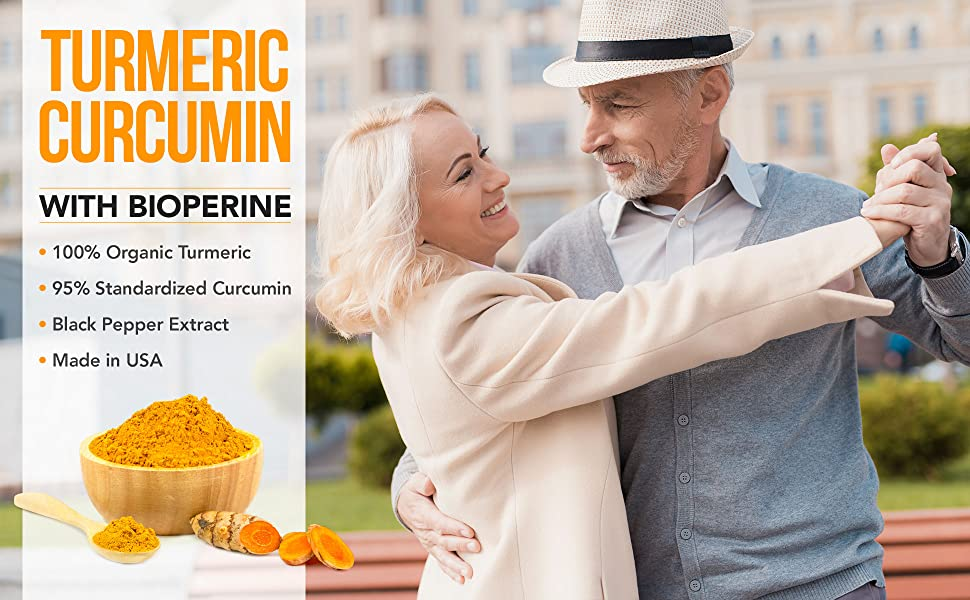 Turmeric Curcumin with Bioperine,