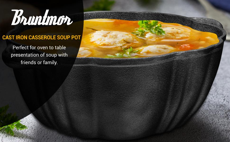 B08TB774M3  -bruntmor-cast-iron-casserole-soup-pot-header-banner