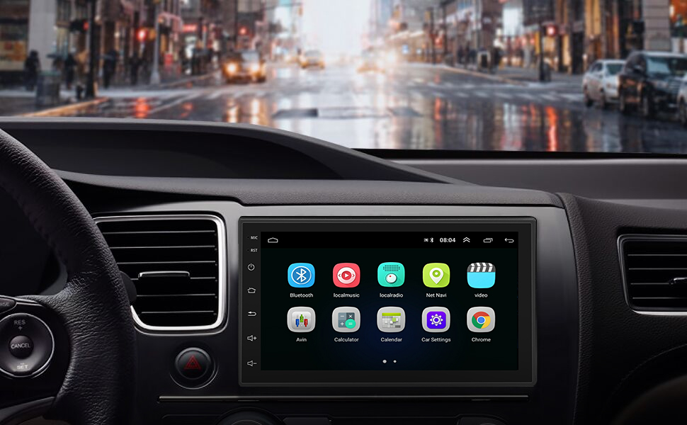 Systegrave;me Android Autoradio pour Fiat Doblo I//II 2000-2014 avec Multimeacute;dia Radio Steacute;reacute;o GPS Navigation Radio USB Bluetooth Mirror Link