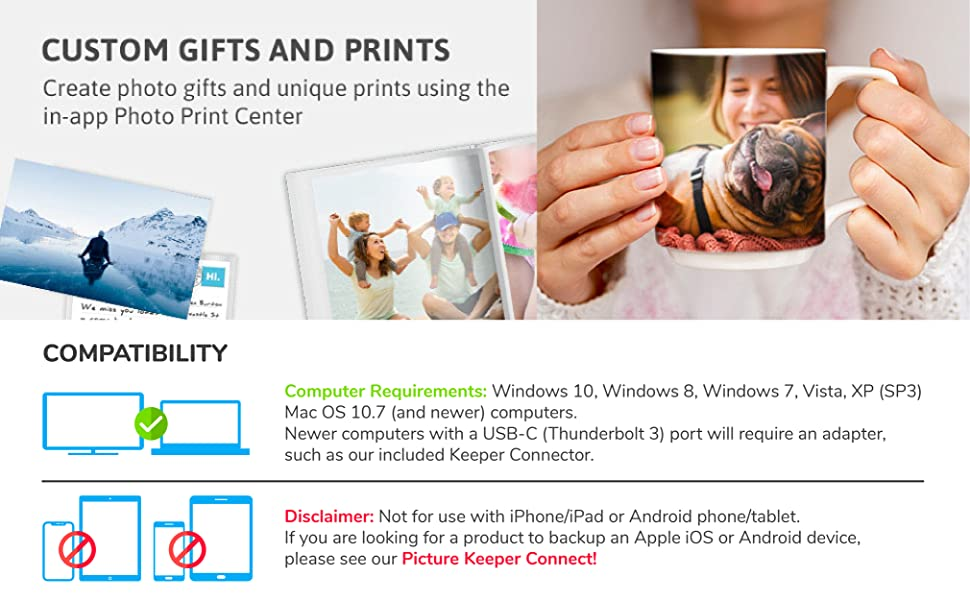 in app gifts, iphotostick, picture keeper