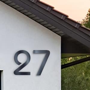 Metzler huisnummers roestvrij staal huisnummer v2a v4a huisnummer van roestvrij staal